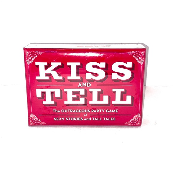 Kiss & Tell Party Game - Modern Day Truth or Dare